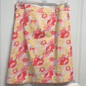 George Flare Skirt Size 22W Floral Print